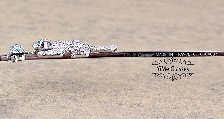 Cartier PANTHÈRE Diamond Metal Rimless EyeGlasses CT6384083插图10
