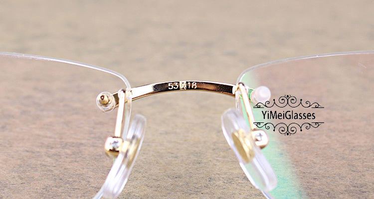 Cartier PANTHÈRE Diamond Metal Rimless EyeGlasses CT6384083插图17