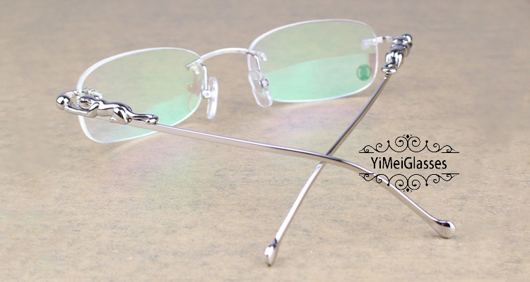 Cartier PANTHÈRE Metal Classic Rimless EyeGlasses CT6384086插图(13)