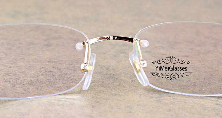 Cartier PANTHÈRE Metal Classic Rimless EyeGlasses CT6384086插图(5)