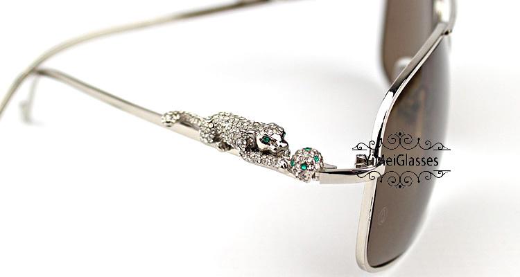 Cartier PANTHÈRE Diamond Aviators Full Frame SunGlasses CT6384088插图(15)