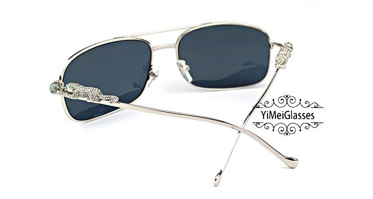 Cartier PANTHÈRE Diamond Aviators Full Frame SunGlasses CT6384088插图(20)