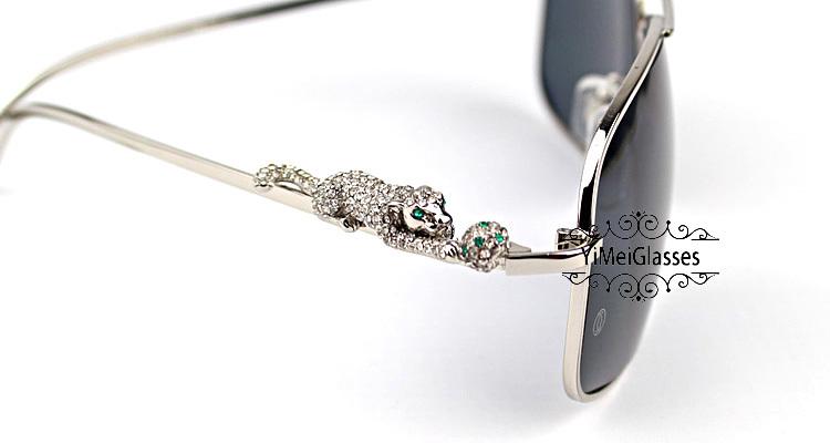 Cartier PANTHÈRE Diamond Aviators Full Frame SunGlasses CT6384088插图(21)