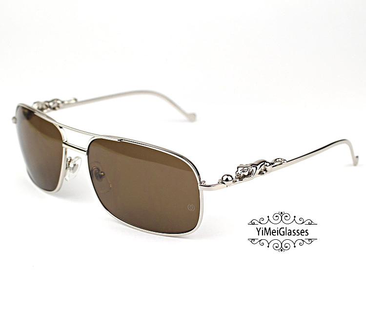 Cartier PANTHÈRE Metal Full Frame SunGlasses CT6384088插图(13)