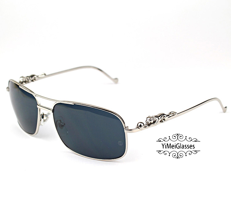 Cartier PANTHÈRE Metal Full Frame SunGlasses CT6384088插图(20)
