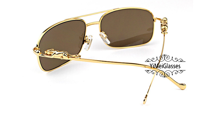 Cartier PANTHÈRE Metal Full Frame SunGlasses CT6384088插图(9)