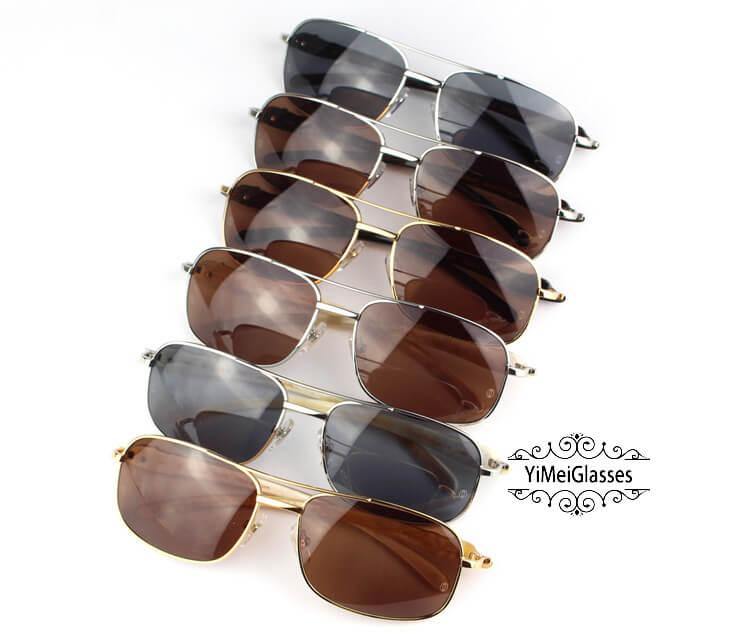Cartier PANTHÈRE Horn Aviators Full Frame Sunglasses CT6384092插图
