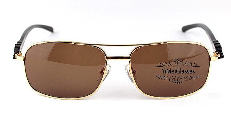 Cartier PANTHÈRE Horn Aviators Full Frame Sunglasses CT6384092插图(17)