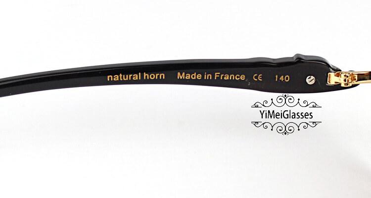 Cartier PANTHÈRE Horn Aviators Full Frame Sunglasses CT6384092插图(21)