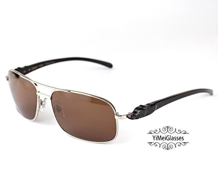 Cartier PANTHÈRE Horn Aviators Full Frame Sunglasses CT6384092插图(27)
