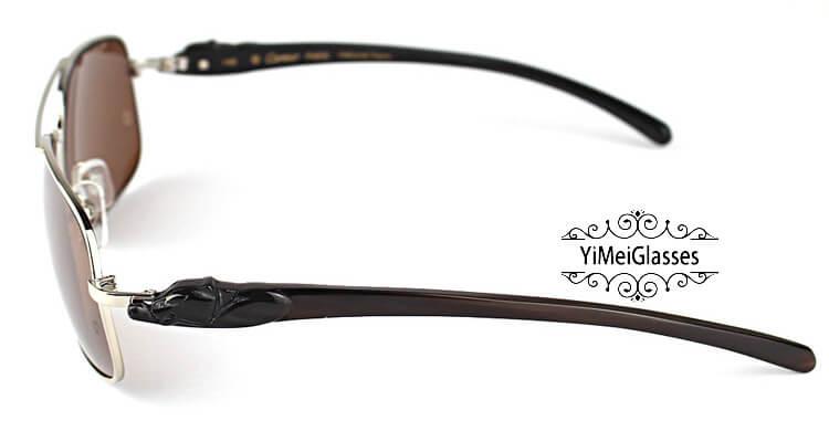 Cartier PANTHÈRE Horn Aviators Full Frame Sunglasses CT6384092插图(28)