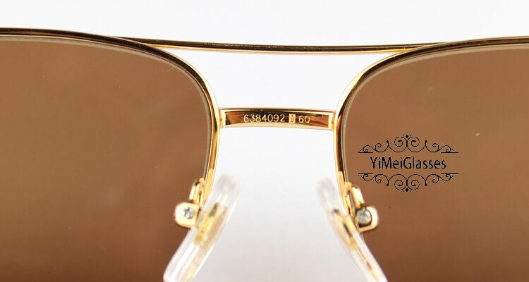 Cartier PANTHÈRE Horn Aviators Full Frame Sunglasses CT6384092插图(7)