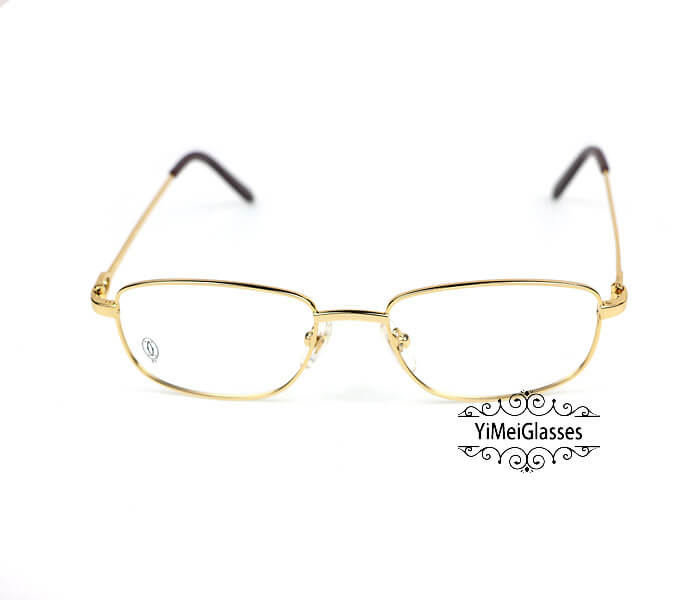 Cartier Retro Metal C Decor Full Frame Eyeglasses CT6410162插图