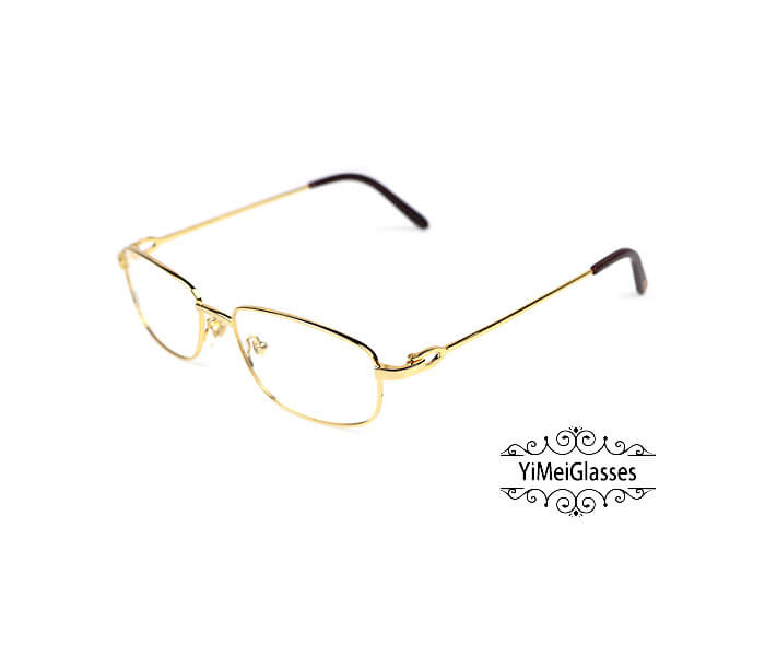 Cartier Retro Metal C Decor Full Frame Eyeglasses CT6410162插图(1)