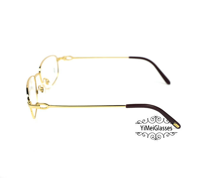 Cartier Retro Metal C Decor Full Frame Eyeglasses CT6410162插图(2)