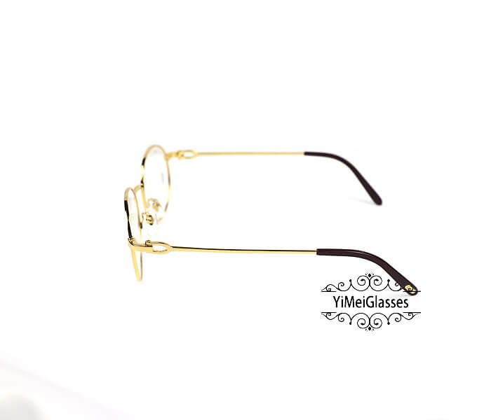 Cartier Retro Metal C Decor Full Frame Eyeglasses CT6410163插图(8)