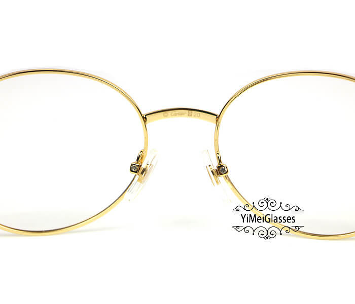 Cartier Retro Metal C Decor Full Frame Eyeglasses CT6410163插图(9)