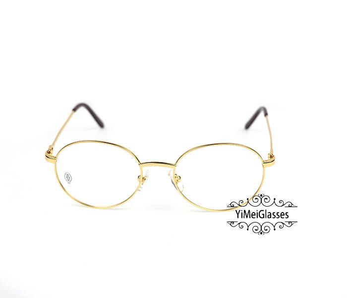 Cartier Retro Metal C Decor Full Frame Eyeglasses CT6410163插图(7)