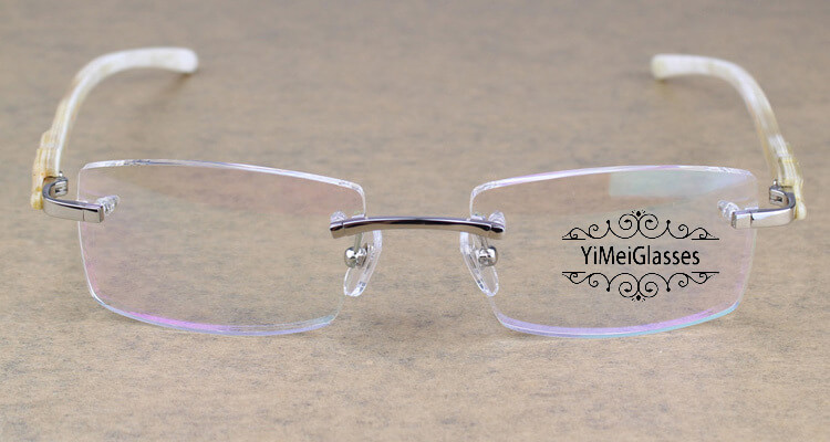 Cartier PANTHÈRE Rimless Horn EyeGlasses CT6738032插图(10)