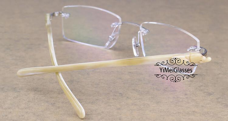 Cartier PANTHÈRE Rimless Horn EyeGlasses CT6738032插图(16)