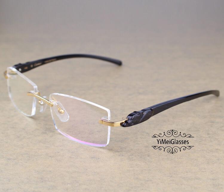 Cartier PANTHÈRE Rimless Horn EyeGlasses CT6738032插图(19)