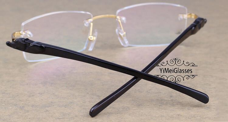 Cartier PANTHÈRE Rimless Horn EyeGlasses CT6738032插图(23)