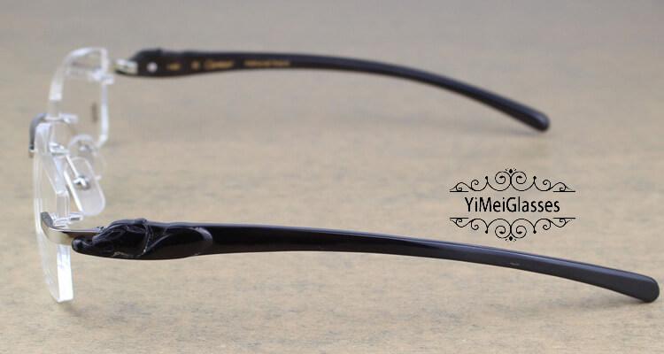 Cartier PANTHÈRE Rimless Horn EyeGlasses CT6738032插图(27)