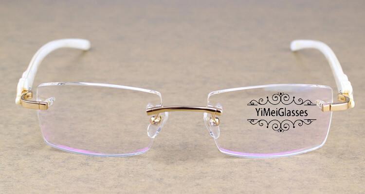 Cartier PANTHÈRE Rimless Horn EyeGlasses CT6738032插图(2)