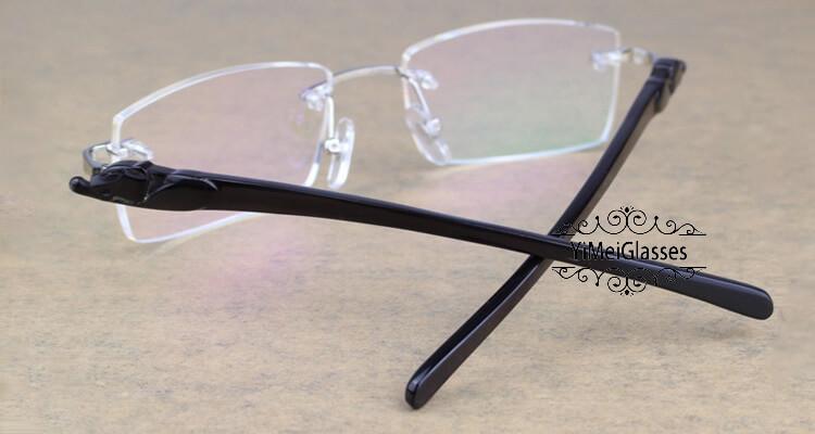 Cartier PANTHÈRE Rimless Horn EyeGlasses CT6738032插图(30)