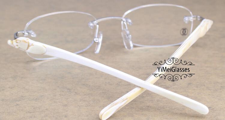 Cartier PANTHÈRE Rimless Buffalo Horn EyeGlasses CT6738033插图(15)