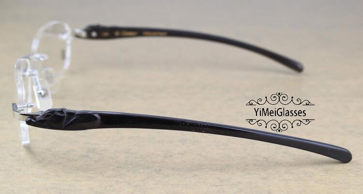 Cartier PANTHÈRE Rimless Buffalo Horn EyeGlasses CT6738033插图(19)