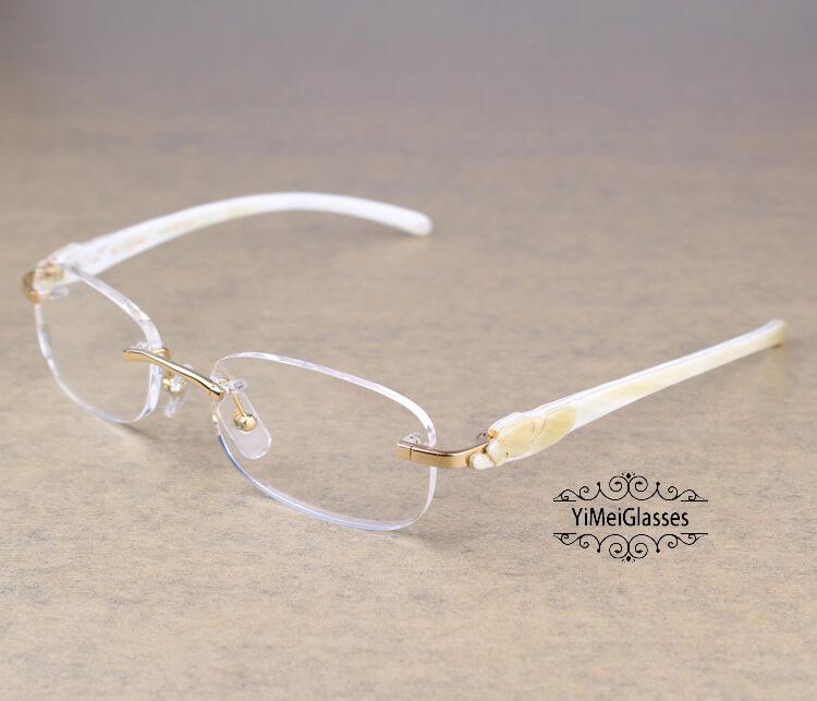 Cartier PANTHÈRE Rimless Buffalo Horn EyeGlasses CT6738033插图(2)