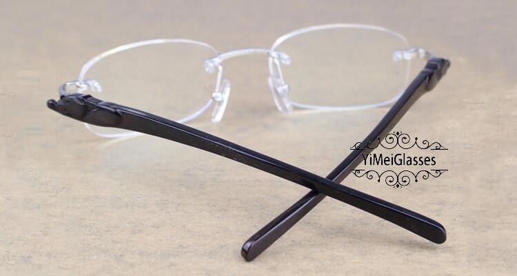 Cartier PANTHÈRE Rimless Buffalo Horn EyeGlasses CT6738033插图(22)
