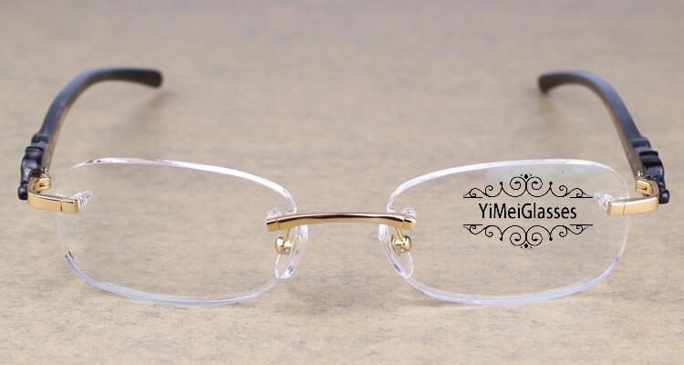 Cartier PANTHÈRE Rimless Buffalo Horn EyeGlasses CT6738033插图(24)