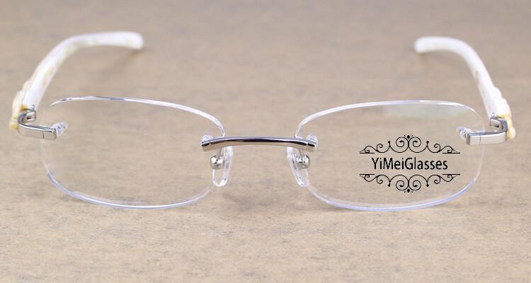 Cartier PANTHÈRE Rimless Buffalo Horn EyeGlasses CT6738033插图(9)