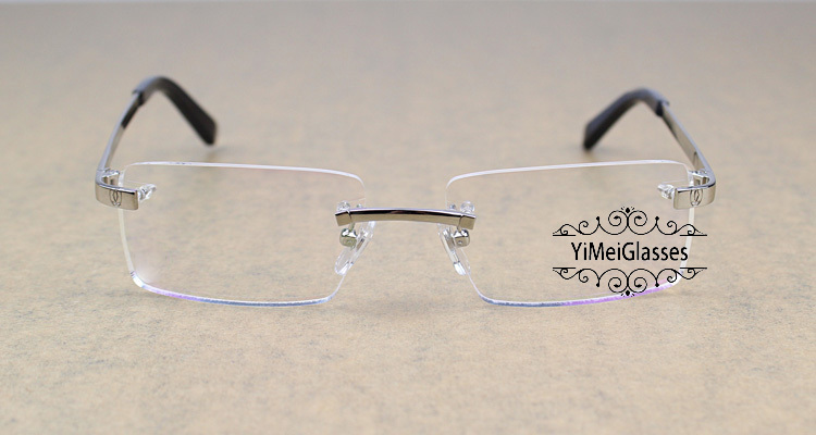Cartier Metal Classic Unisex Rimless Eyeglasses CT5813812插图