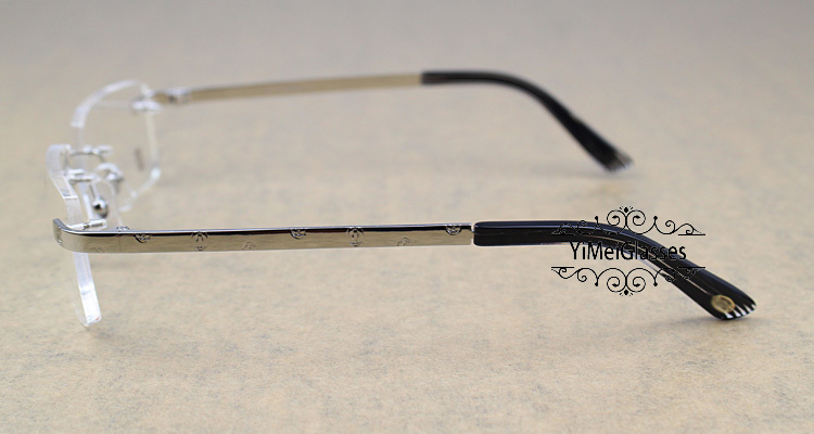 Cartier Metal Classic Unisex Rimless Eyeglasses CT5813812插图2