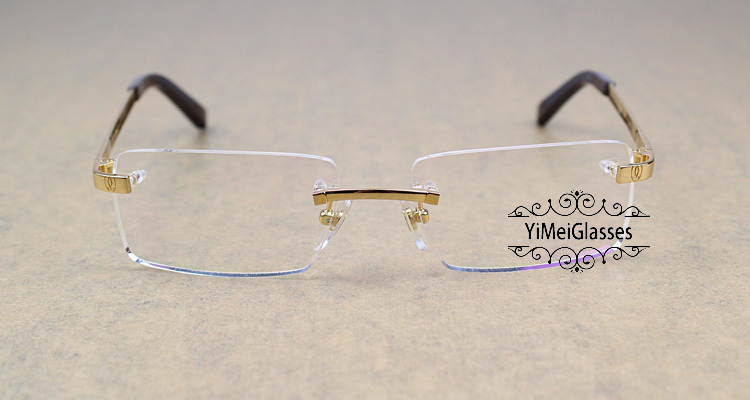 Cartier Metal Classic Unisex Rimless Eyeglasses CT5813812插图6