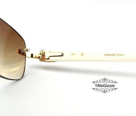 CT3524015-Cartier-Classic-18K-GOLD-Plated-Buffalo-Horn-Rimless-Sunglasses-10-467x400.jpg