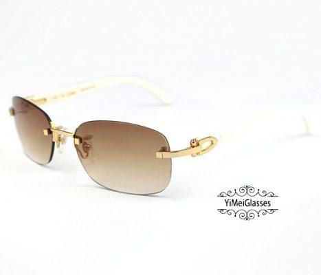 CT3524015-Cartier-Classic-18K-GOLD-Plated-Buffalo-Horn-Rimless-Sunglasses-8-467x400.jpg